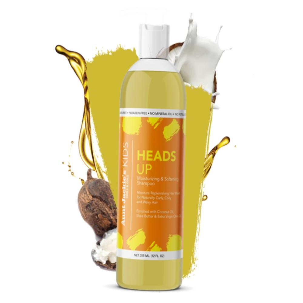 Aunt Jackie's Heads Up Moisturizing & Softening Shampoo - 12oz
