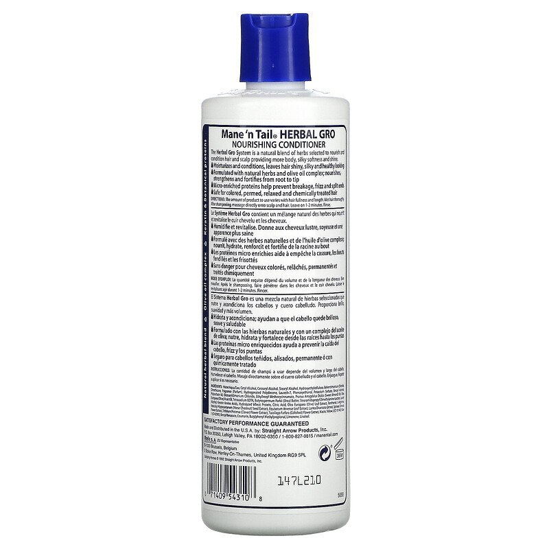 Mane 'n Tail Herbal-gro Conditioner - 12oz