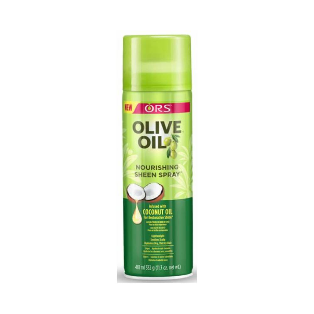 ORS Olive Oil Nourishing Sheen Spray Infused With Coconut Oil - 11.7oz