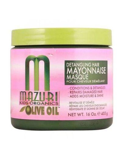 Mazuri Kids Olive Oil Detangling Hair Mayonnaise Masque - 455g