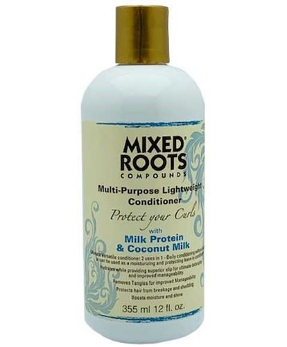 Mixed Roots - Compounds Multi-Purpose Lightweight Conditioner With Milk Protein & Coconut Milk 355ml