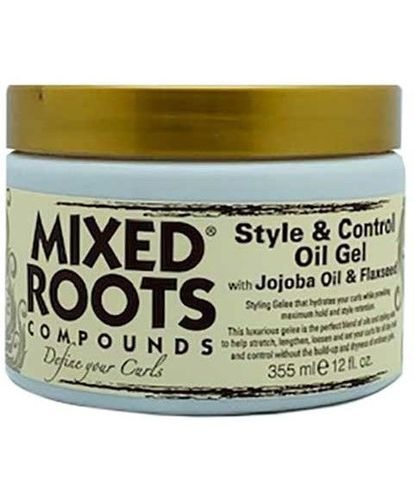 Mixed Roots - Compounds Style & Control Oil Gel With Jojoba & Flaxseed 355ml