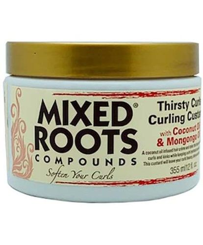 Mixed Roots - Compounds Thirsty Curls Curling Custard With Coconut Oil & Mongongo Oil 355ml