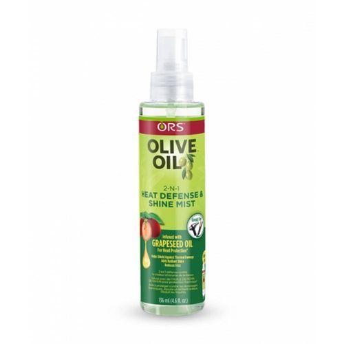 ORS Olive Oil 2-n-1 Shine Mist & Heat Defense - 4.6oz