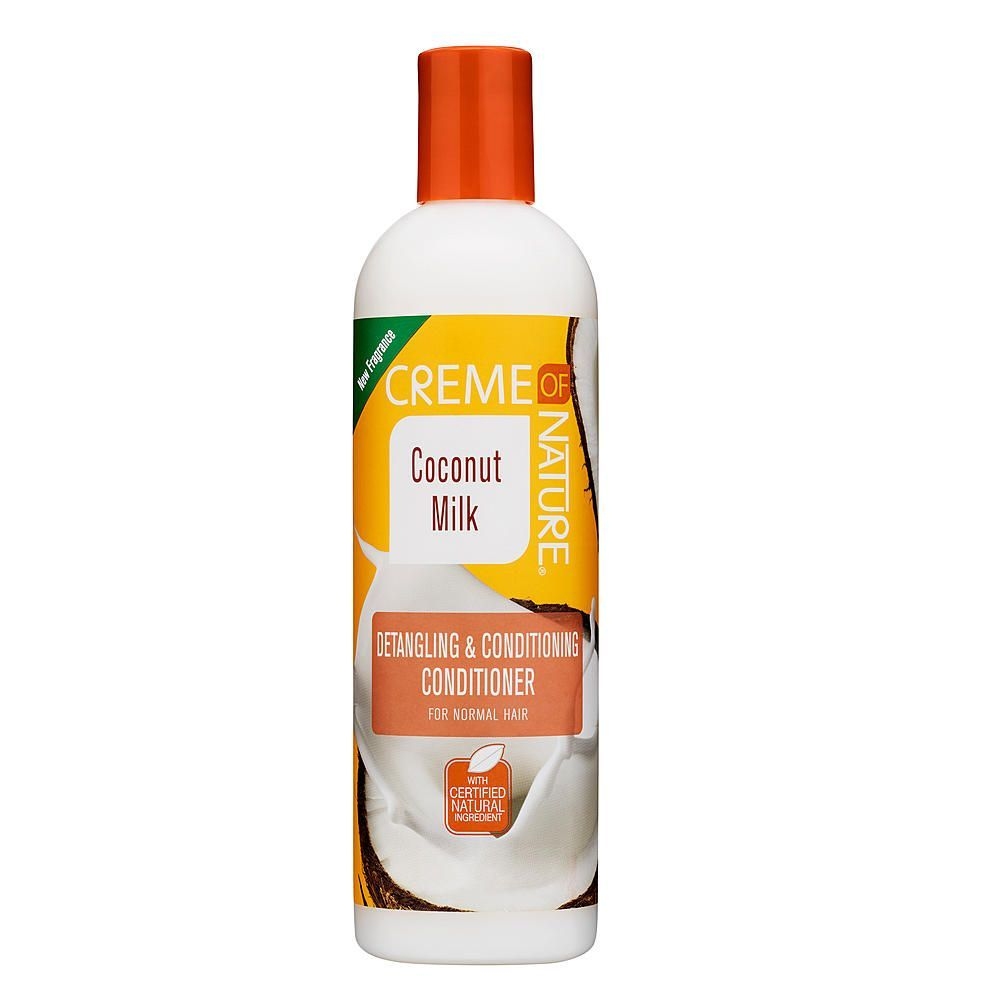 Creme Of Nature Coconut Milk Detangling & Conditioning Conditioner - 12oz