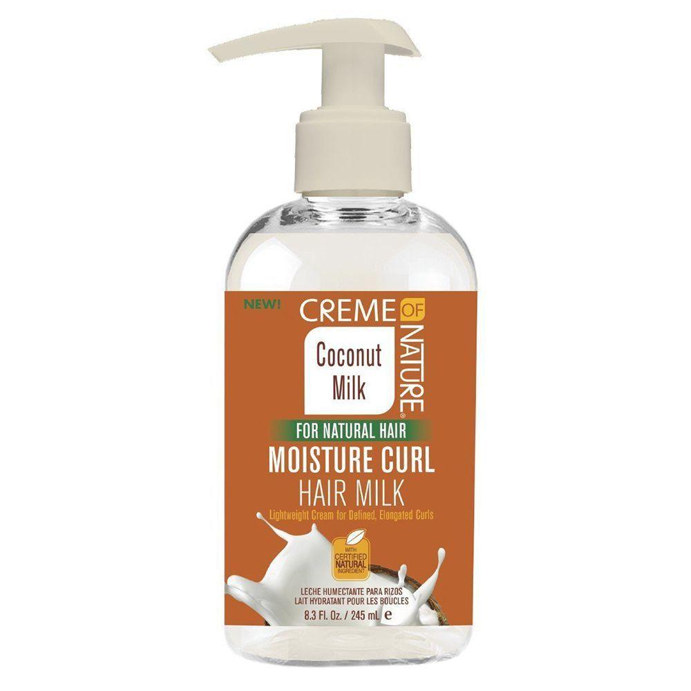Creme Of Nature Coconut Milk Moisture Curl Hair Milk - 8.3oz