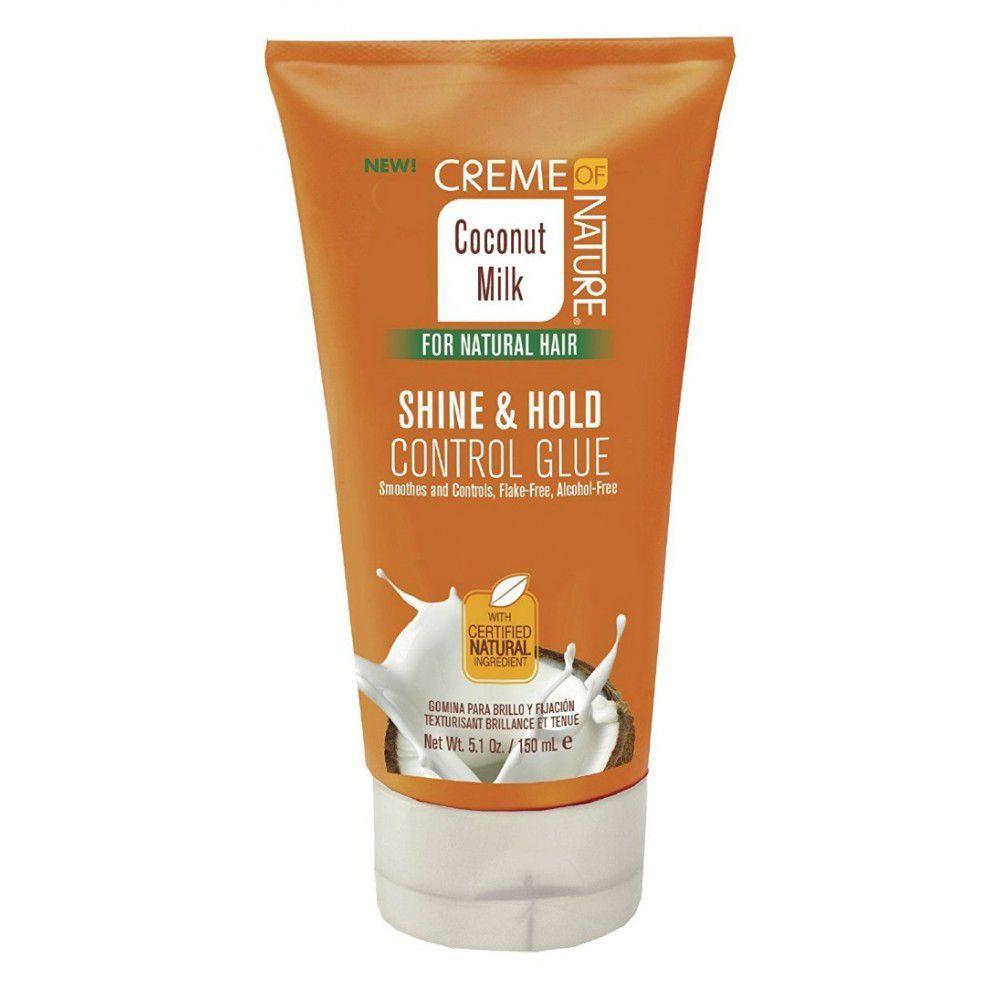 Creme Of Nature Coconut Milk Shine & Hold Control Glue - 5.1oz