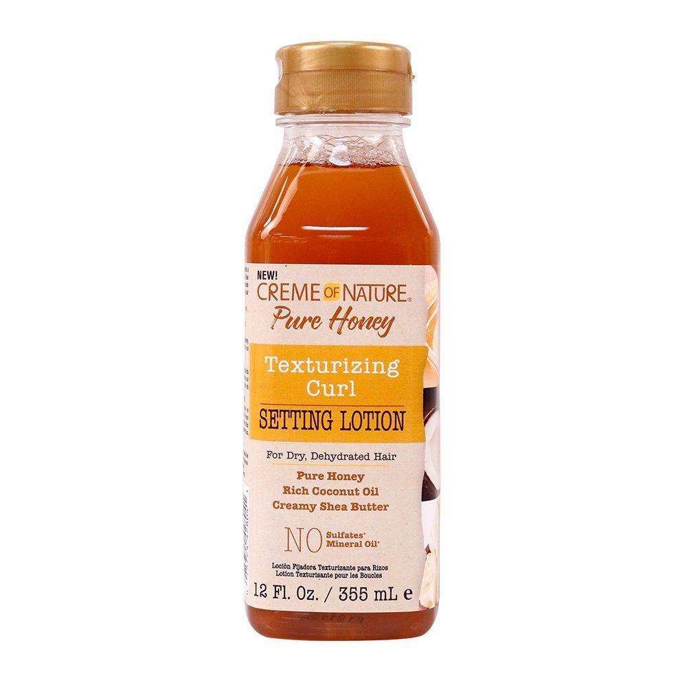 Creme Of Nature Pure Honey Texturizing Curl Setting Lotion - 12oz