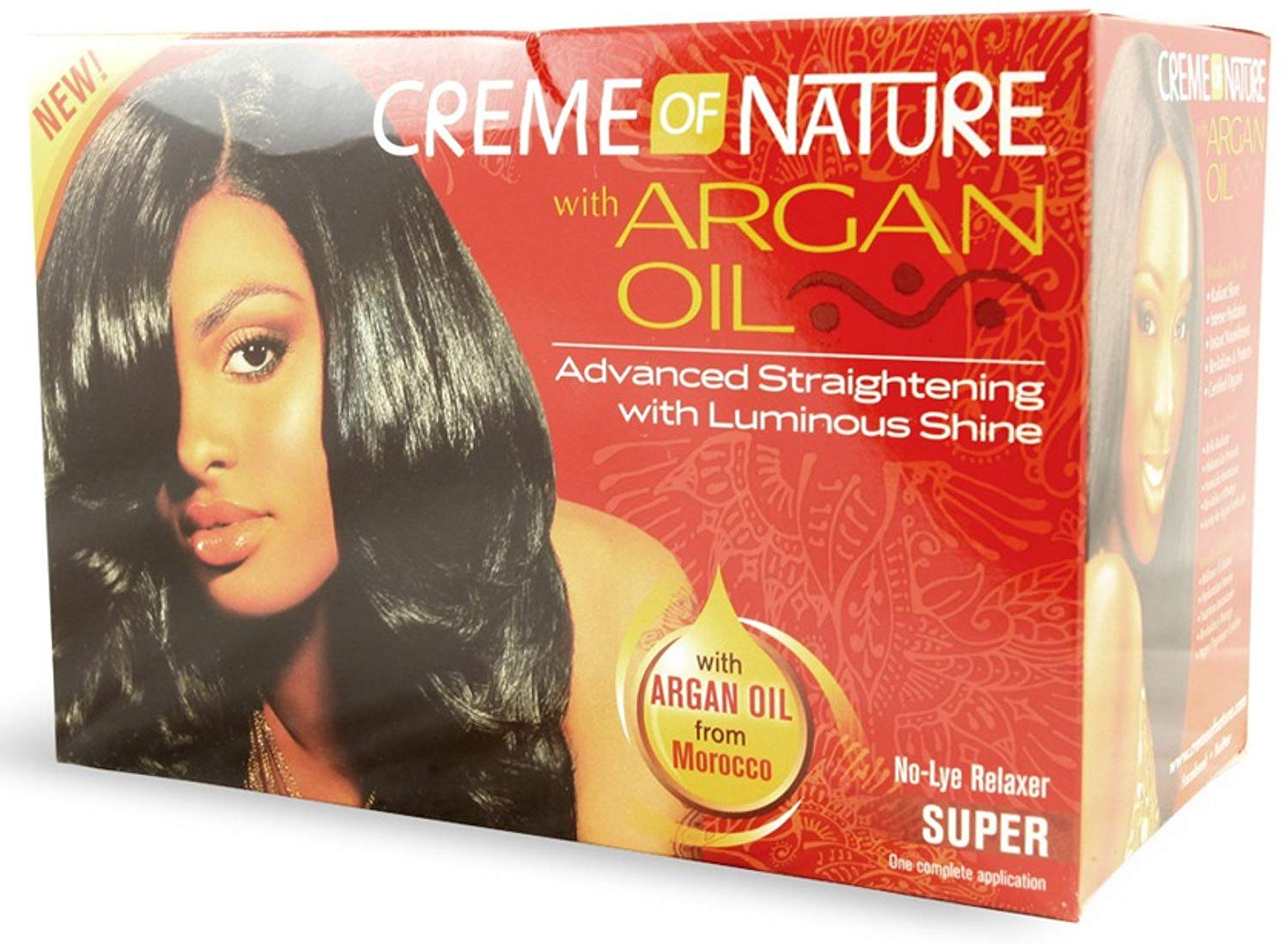 Creme Of Nature With Argan Oil Relaxer - Super