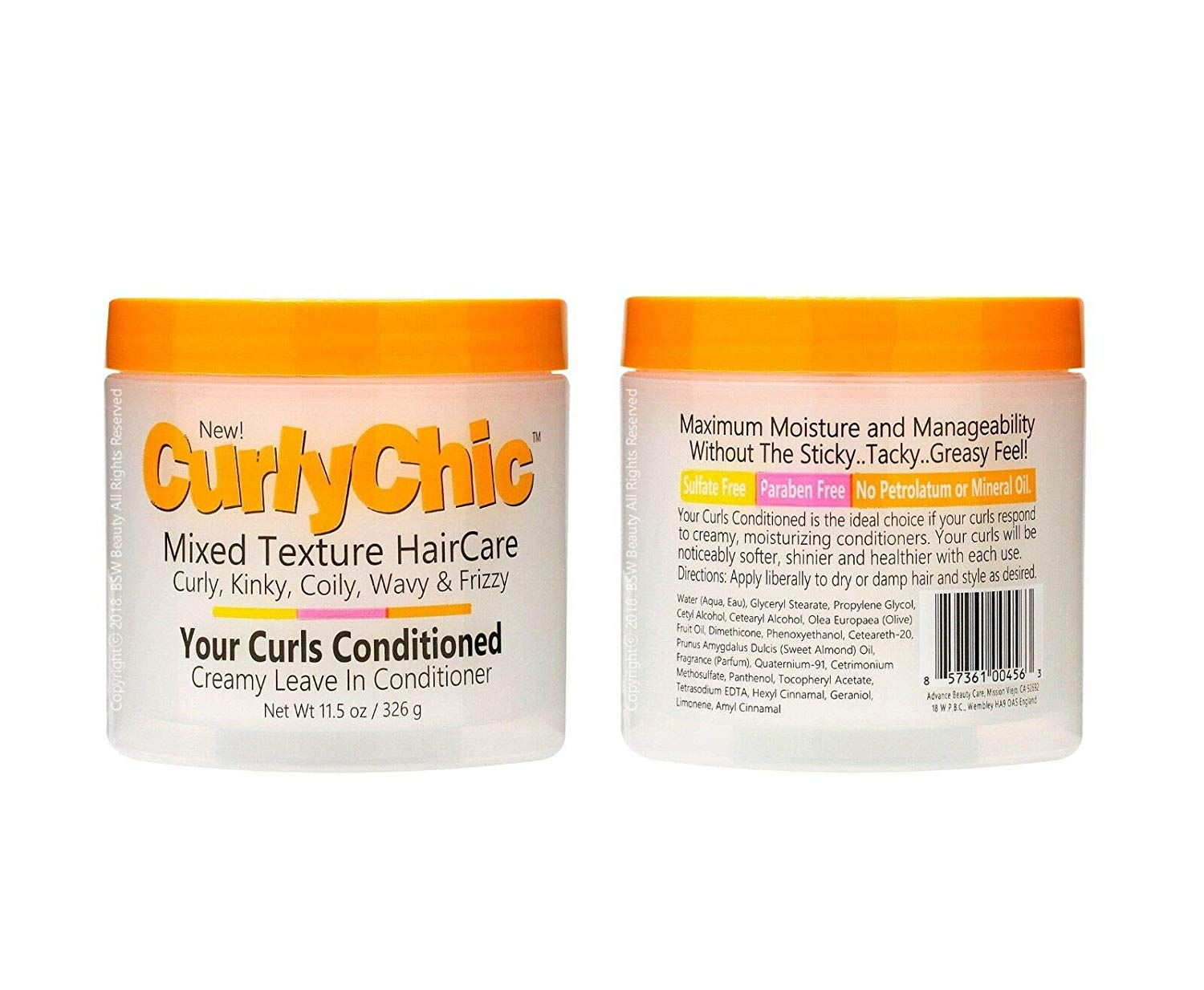 CurlyChic Your Curls Conditioned - 11.5oz