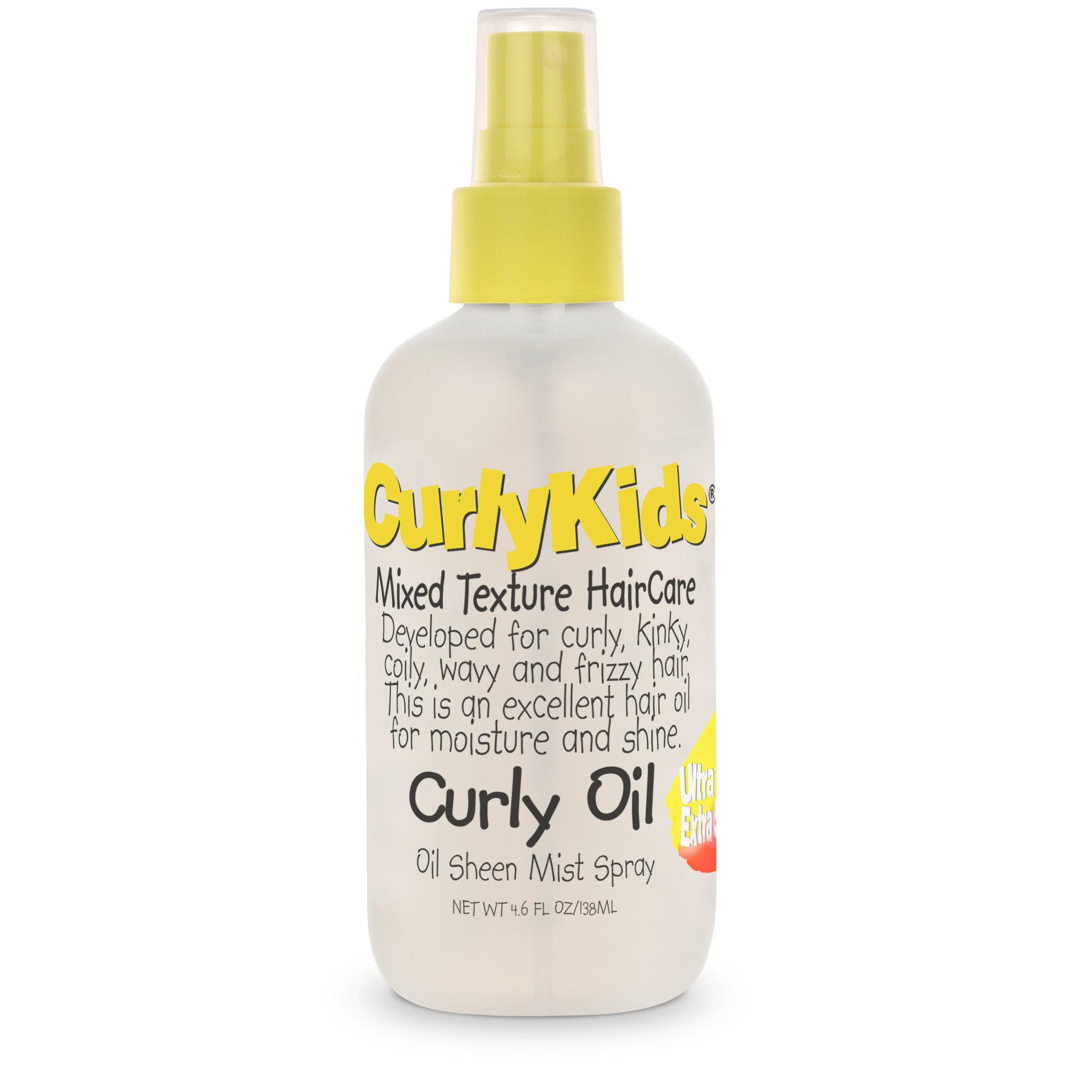 CurlyKids Curly Oil - 4.6oz