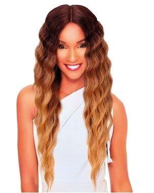 Sleek Spotlight 101 Synthetic Donna Wigs - Natural Black