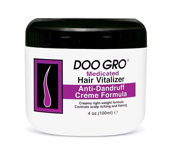 Doo Gro Medicated Hair Vitalizer Anti-dandruff Crème Formula - 4oz