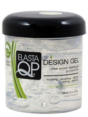 Elasta QP Design Gel: Clear - 15oz