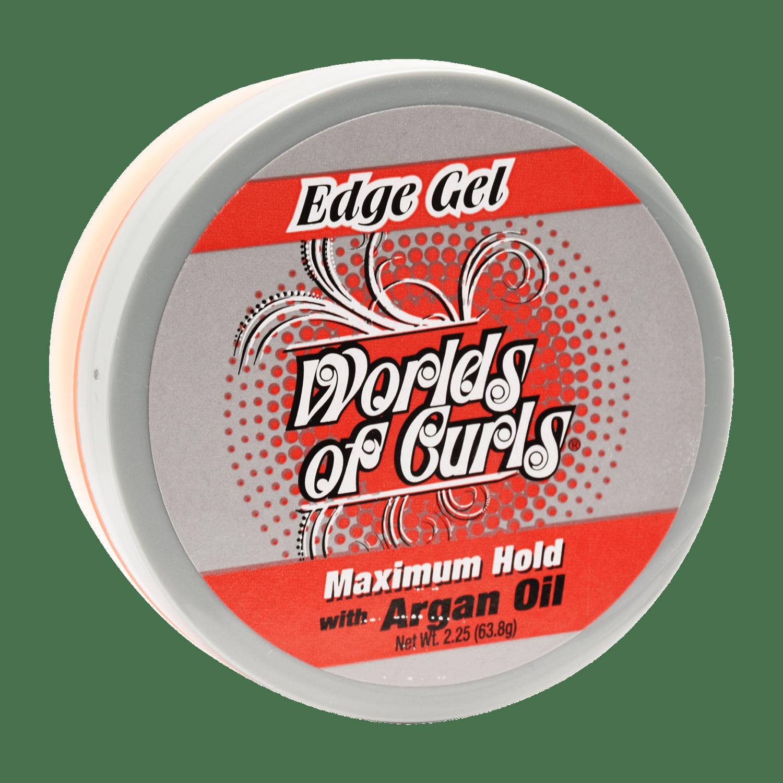World Of Curls Edge Gel With Argan Oil - 2.25oz