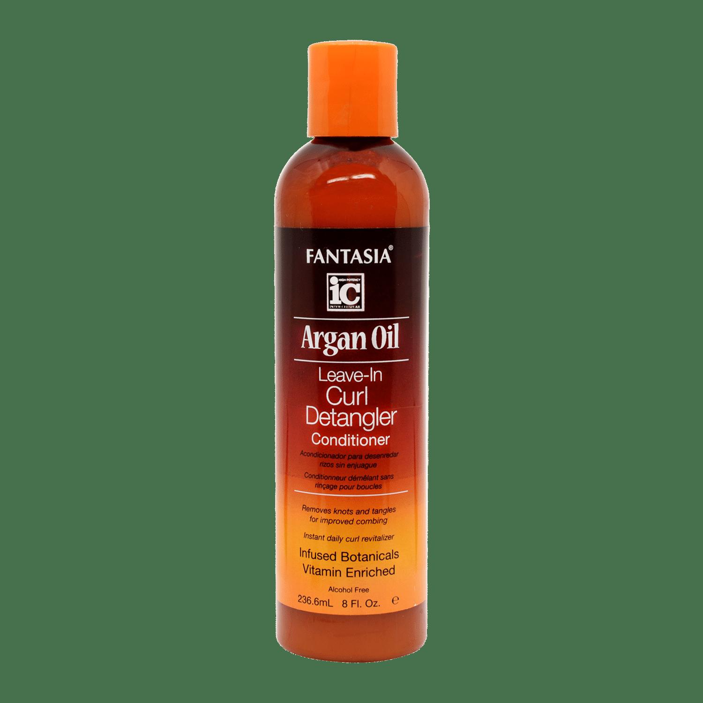 IC Fantasia Argan Oil Leave-in Curl Detangler Conditioner - 8oz