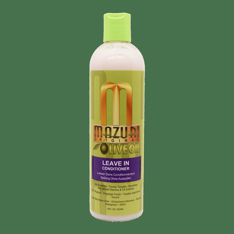 Mazuri Olive Oil Leave-In Conditioner - 355ml