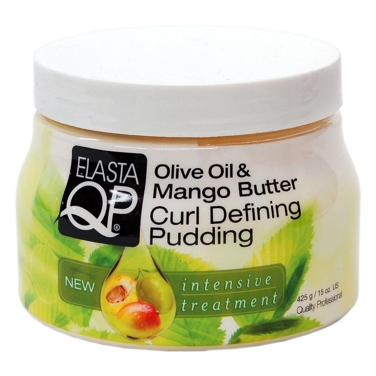Elasta QP Olive Oil & Mango Butter Curl Defining Pudding - 15oz