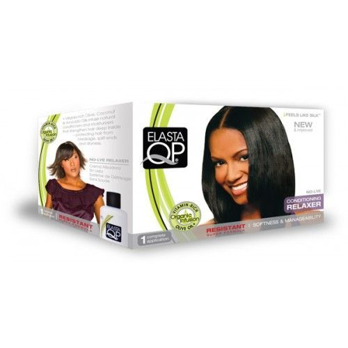 Elasta QP No-lye Conditioning Crème Relaxer 1app - Resistant