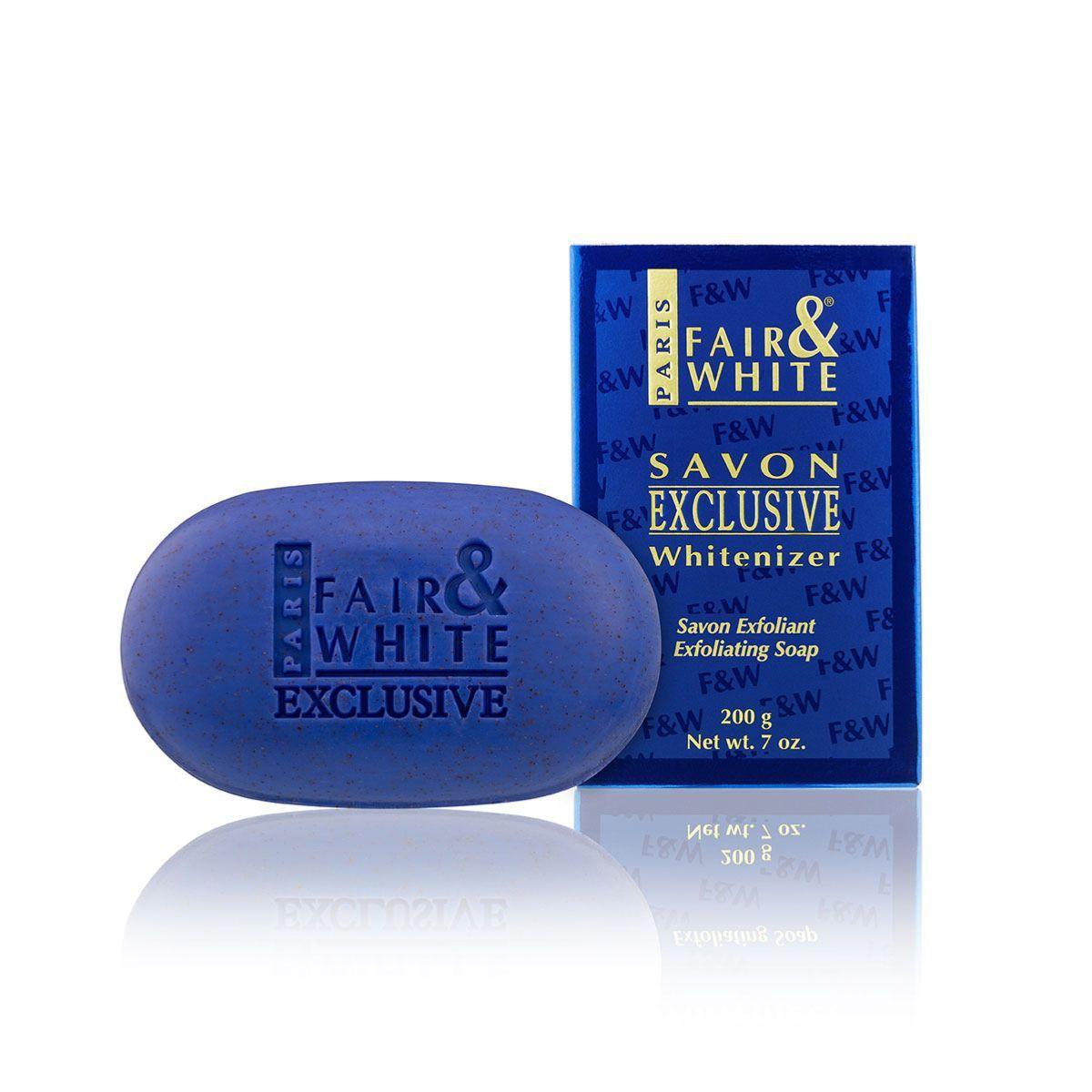 Fair & White Exclusive Whitenizer Exfoliating Soap - 200g