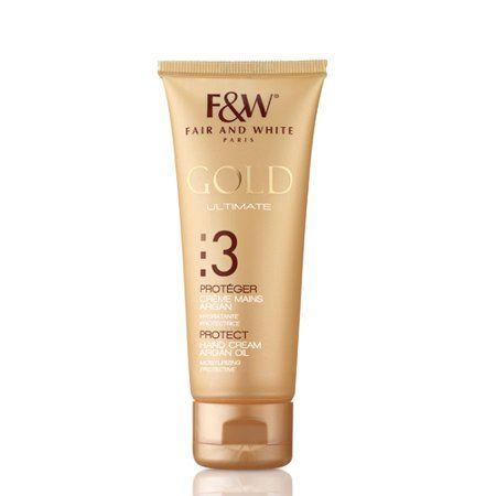 Fair & White Gold Hand Cream With Argan Oil - 50ml