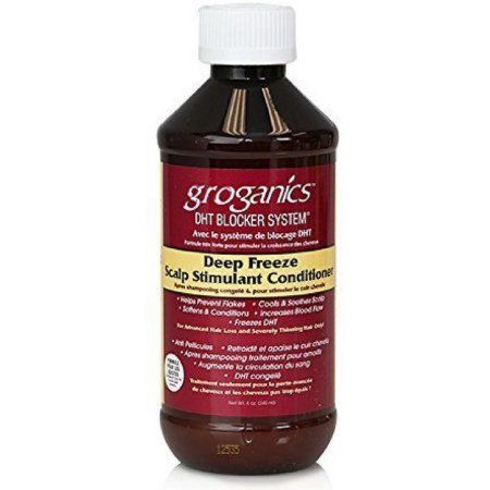 Groganics Deep Freeze Scalp Stimulant Conditioner - 8oz
