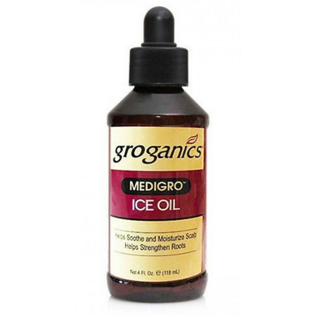 Groganics Medigro Ice Oil - 4oz