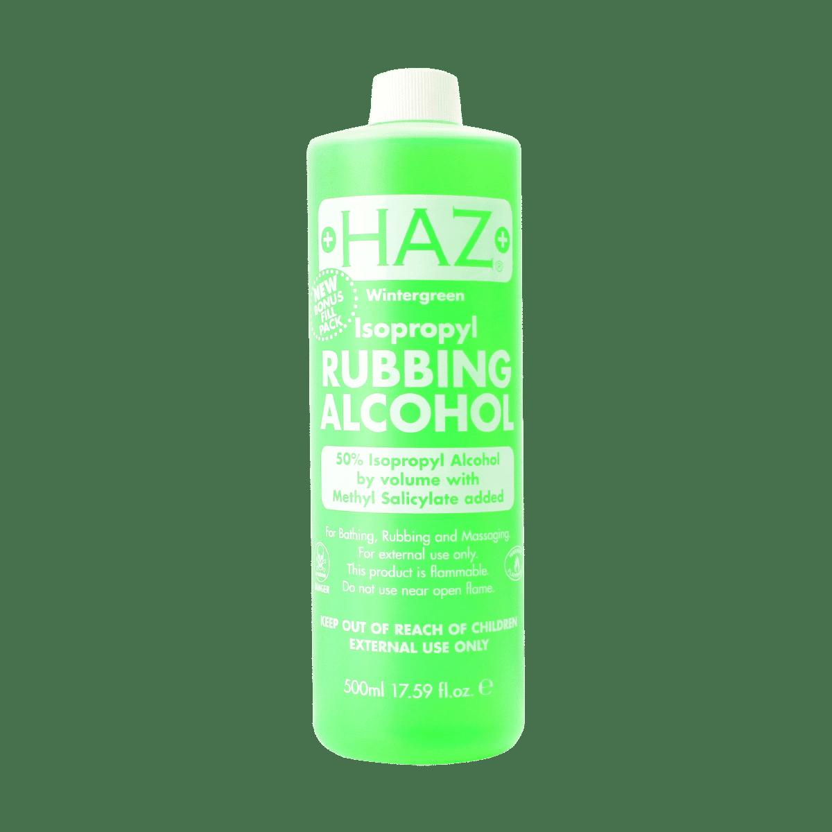 Haz Isopropyl Rubbing Alcohol 50% - 500ml