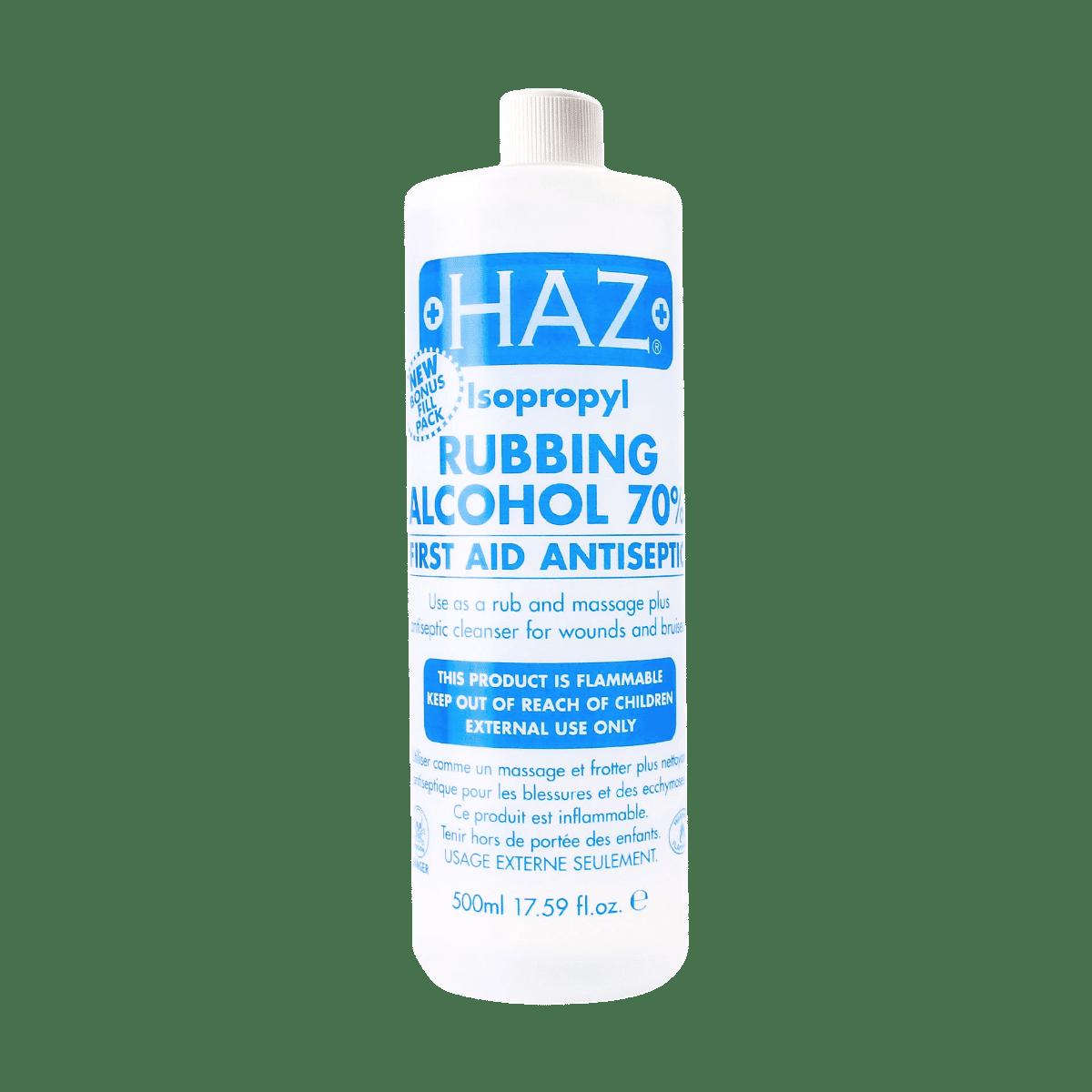 Haz Rubbing Alcohol 70% - 500ml
