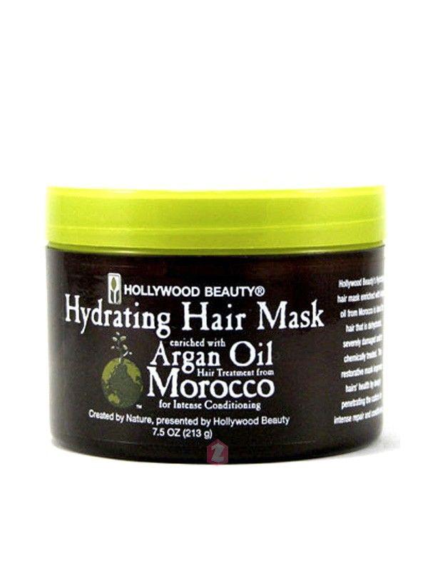 Hollywood Beauty Argan Hair Mask Intense Conditioning - 7.5oz