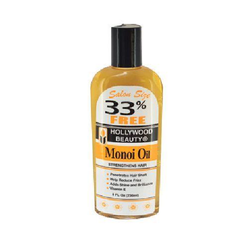 Hollywood Beauty Monoi Oil - 8oz