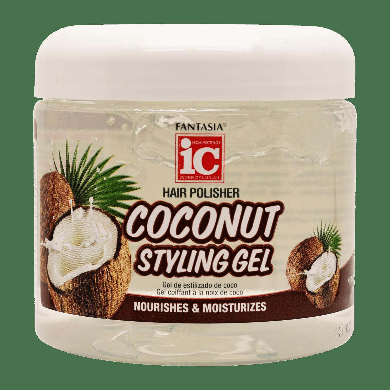 IC Fantasia Coconut Oil Styling Gel - 16oz