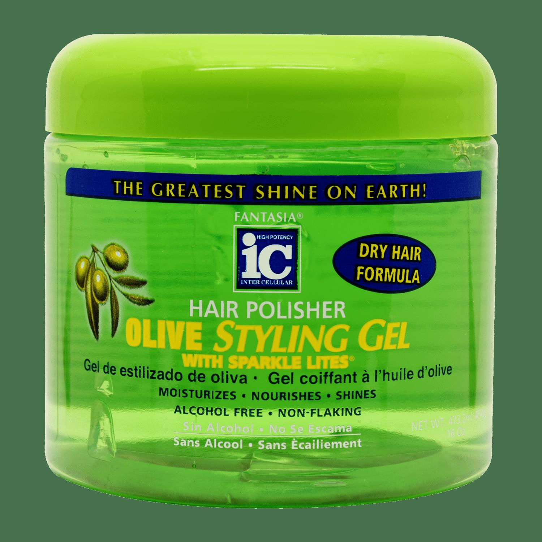 IC Fantasia Olive Styling Gel - 16oz