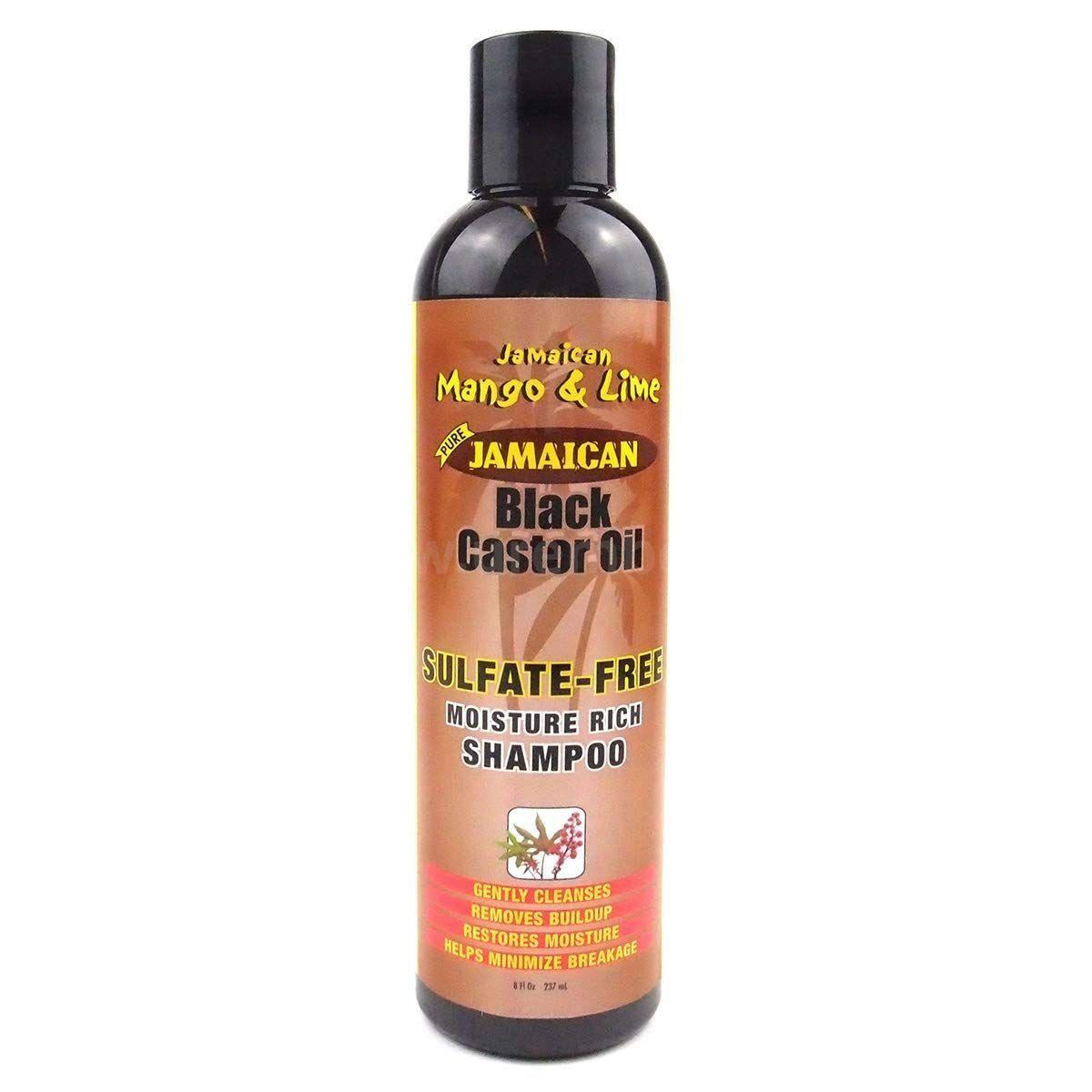 Jamaican Mango & Lime Black Castor Oil Sulfate Free Shampoo - 8oz