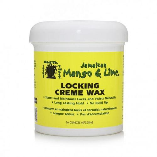 Jamaican Mango & Lime Locking Creme Wax - 16oz