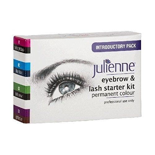 Julienne Eyebrow & Lash Starter Kit Permanent Colour