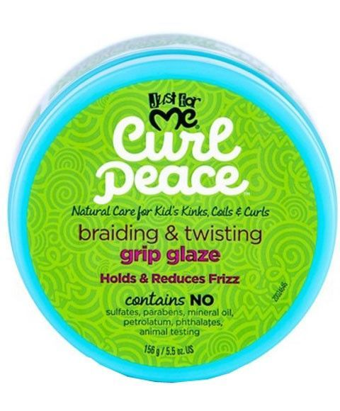 Just For Me Braiding & Twisting Grip Glaze - 5.5oz
