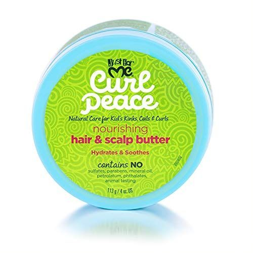 Just For Me Curl Peace Nourishing Hair & Scalp Butter - 4oz