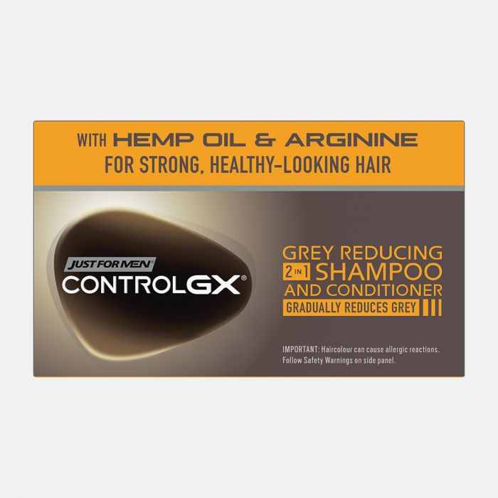 Just For Men Control Gx Grey Reducing 2 In 1 Shampoo & Conditioner - 147ml