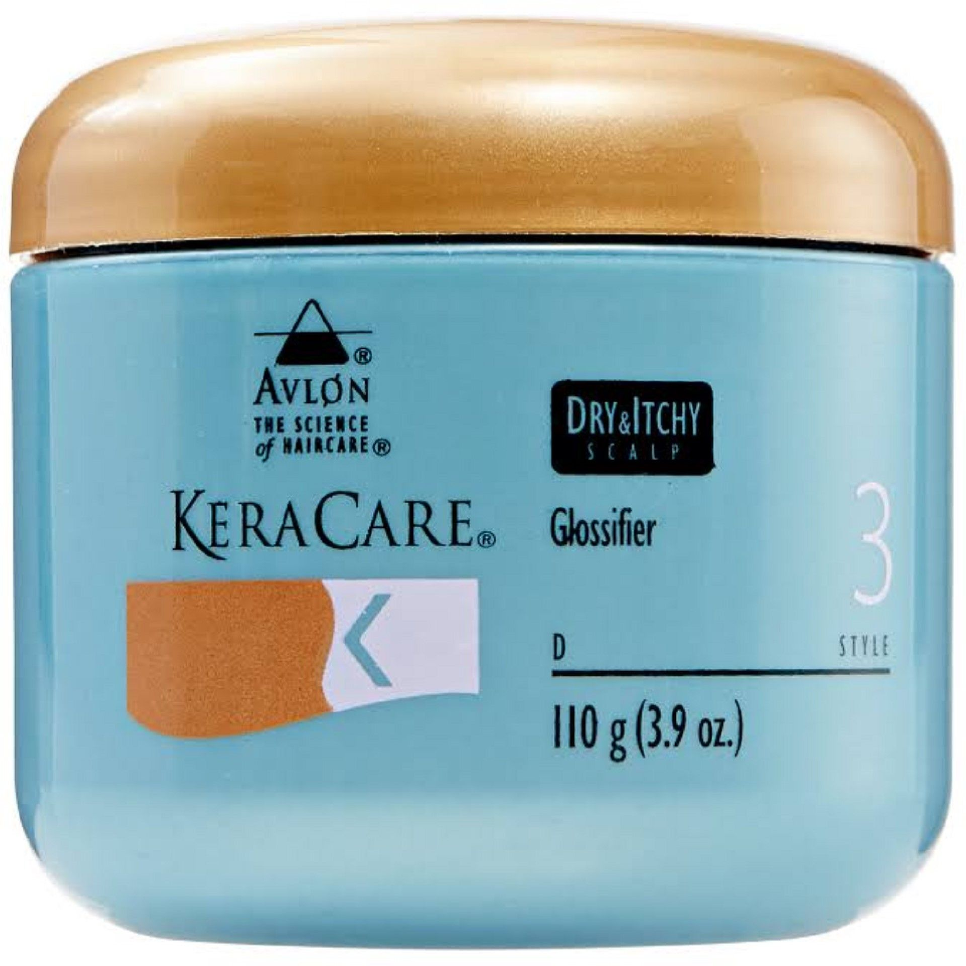 KeraCare Dry and Itchy Scalp Glossifier - 4oz