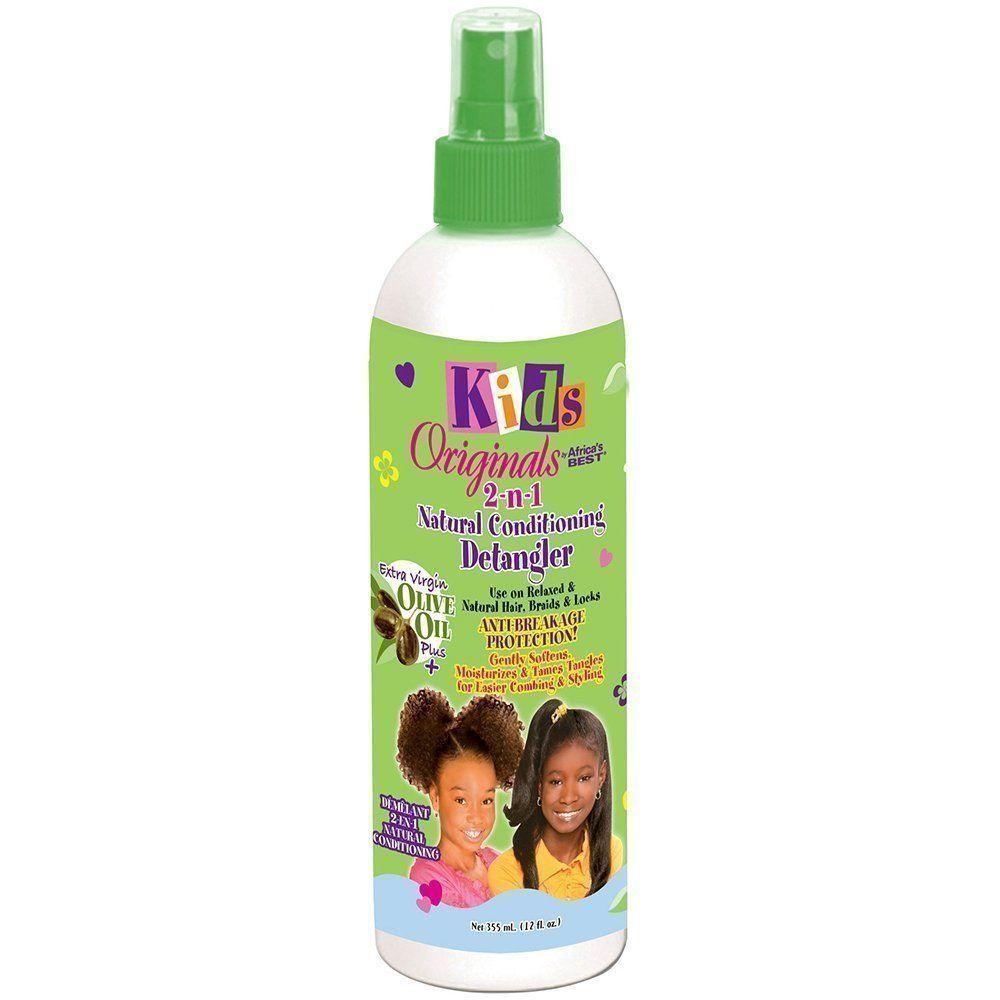 Kids Original Africa's Best 2-in-1 Organic Conditioning Detangler - 355ml