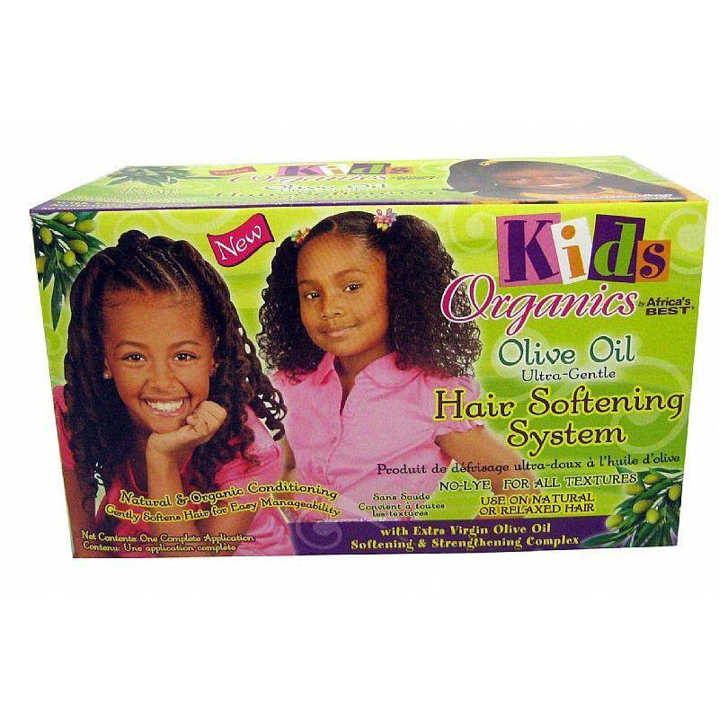Kids Original Africa's Best Hair Softening System