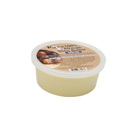 Kuza 100% African Shea Butter White Solid - 8oz