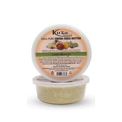 Kuza 100% Pure Cocoa-shea Butter Coco-mango - 8oz