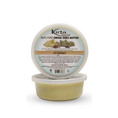 Kuza 100% Pure Cocoa Shea Butter Original - 8oz