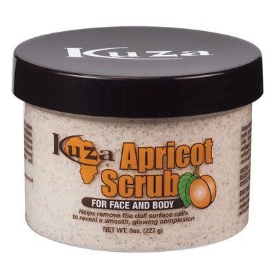 Kuza Apricot Face & Body Scrub - 8oz