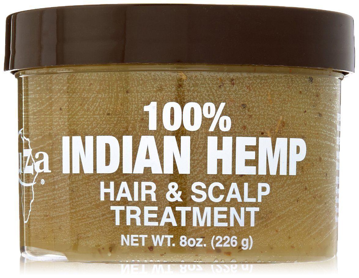 Kuza Indian Hemp Hair & Scalp Treatment - 8oz