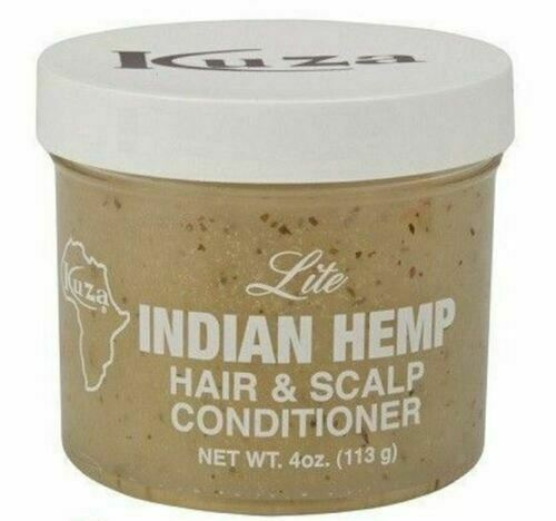 Kuza Lite Indian Hemp Hair & Scalp Conditioner - 4oz