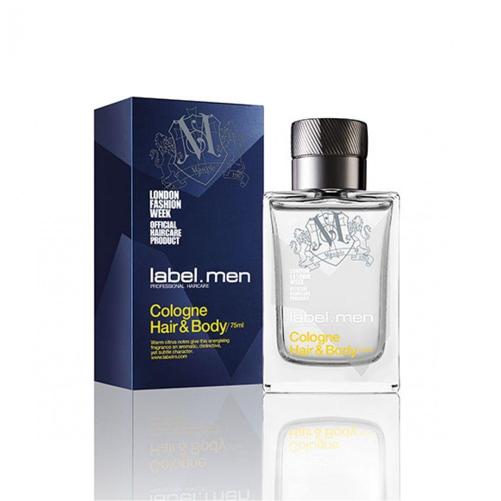 label.men Cologne Hair & Body - 75ml