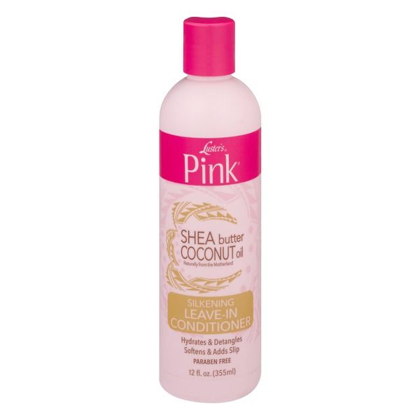 Luster's Pink Shea Butter Coconut Oil Silkening Leave-in Conditioner - 12oz